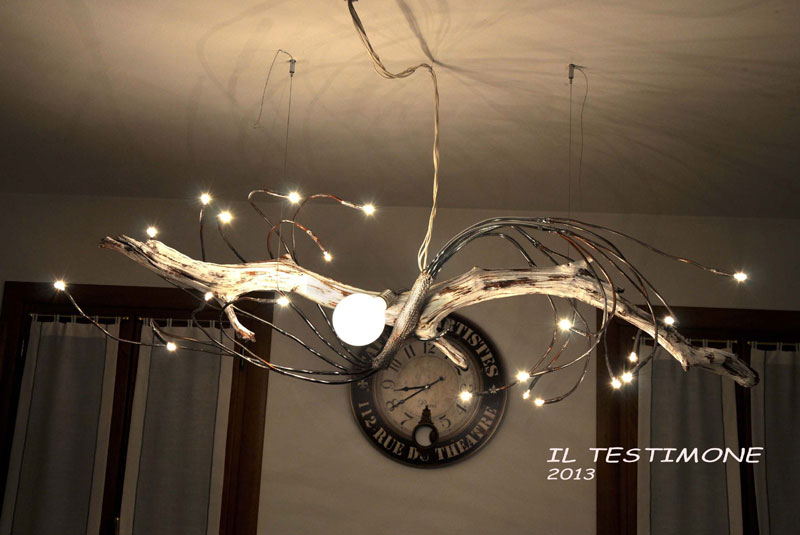 Lampadario soffitto legno tutto su ispirazione design casa for Design moderno casa di legno