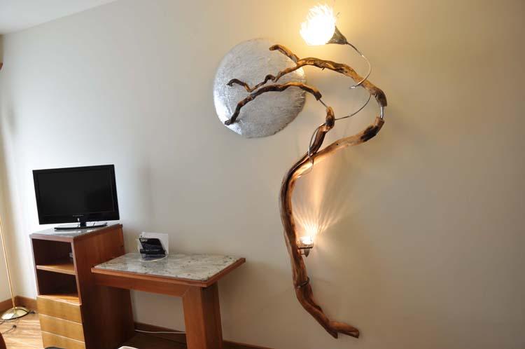Lampade Artistiche A Led : creazioni da muro,lampade da parete ...