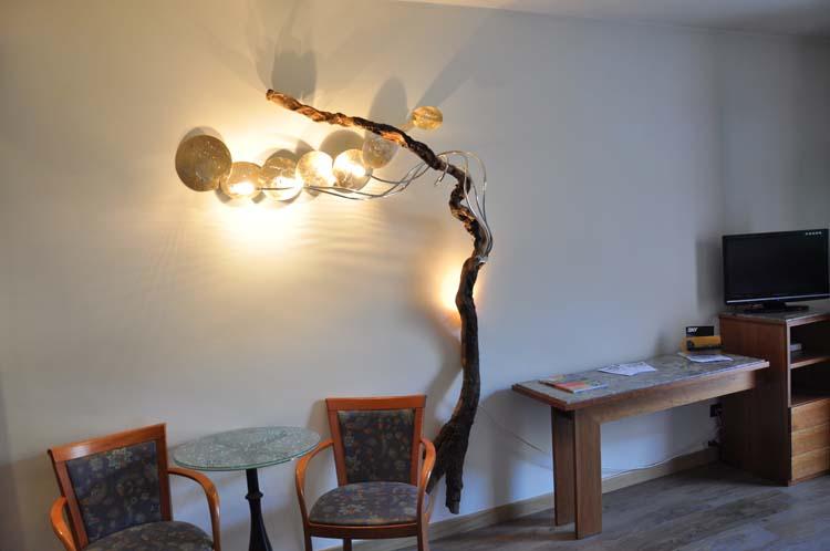 Lampada In Rame Design : Luci dedicate luci da muro design e scultura atocaio